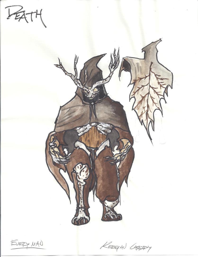 costume design-everyman-death